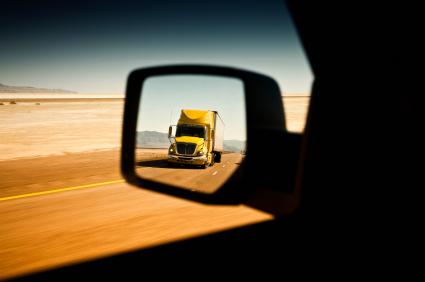 Transport freight truck