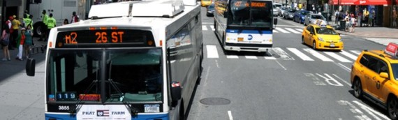 Buses strike pedestrians in separate incidents | New York Post